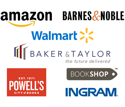 Amazon, Barnes & Noble, Baker & Taylor, Powell's, Ingram