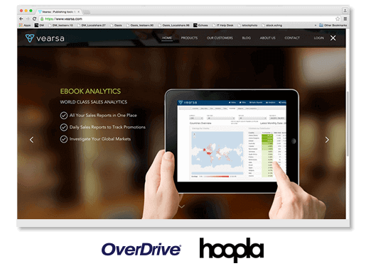 Sell eBooks On Playster & OverDrive Via Vearsa