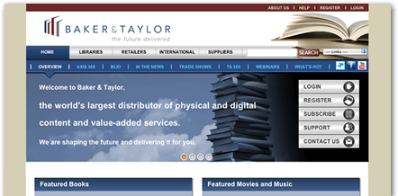 Publish on Baker & Taylor