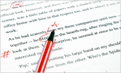 View a Sample of Our Editing and Proofreading